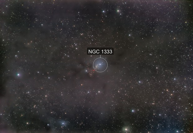 NGC1333 - QHY163 - Esprit 80