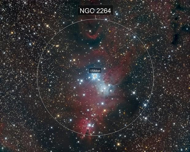 NGC2264 LRGB
