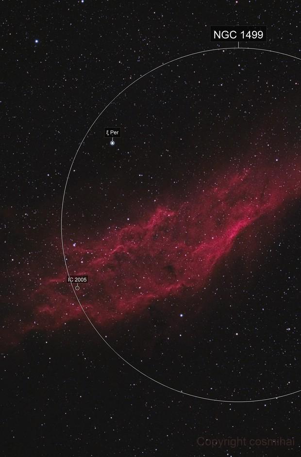 California Nebula, NGC 1499 HaRGB