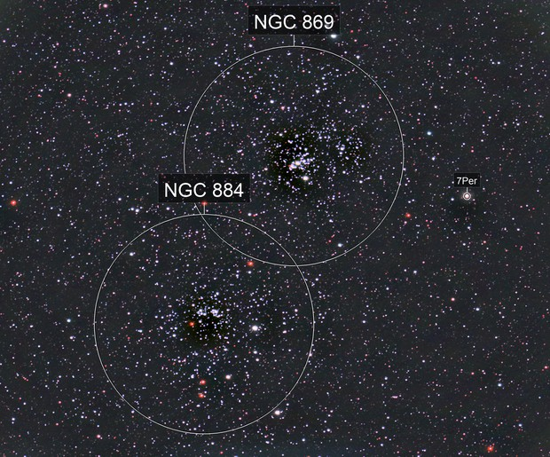 NGC 884 Perseus Double Cluster