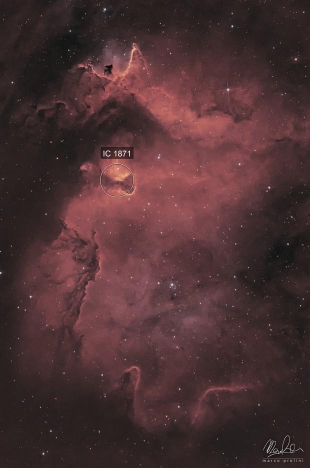 ic1848 - Soul Nebula