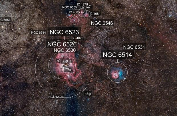 Lagoon - Trifid M8 - M20