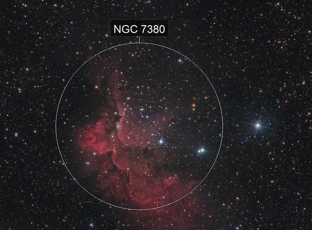 Wizard nebula HaLRGB