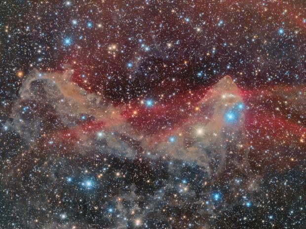 LBN 442 Gecko nebula