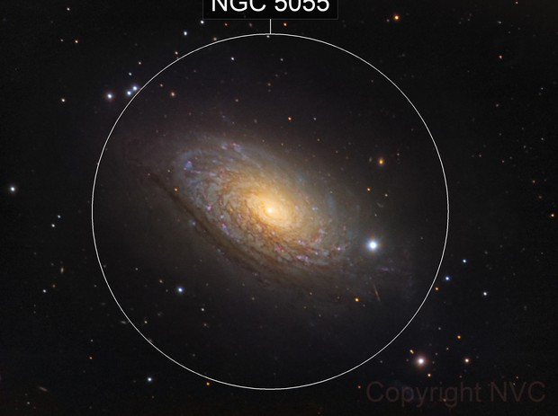 M63, a LRGB picture