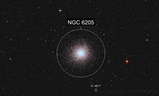 M13 - the famous Hercules Globular Cluster