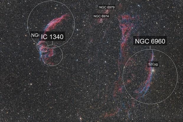 Veil Nebula - supernova remnant