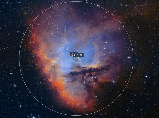 NGC281 - SHO versionB