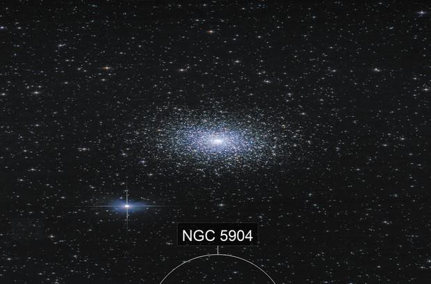 M5 Serpens Globular Cluster