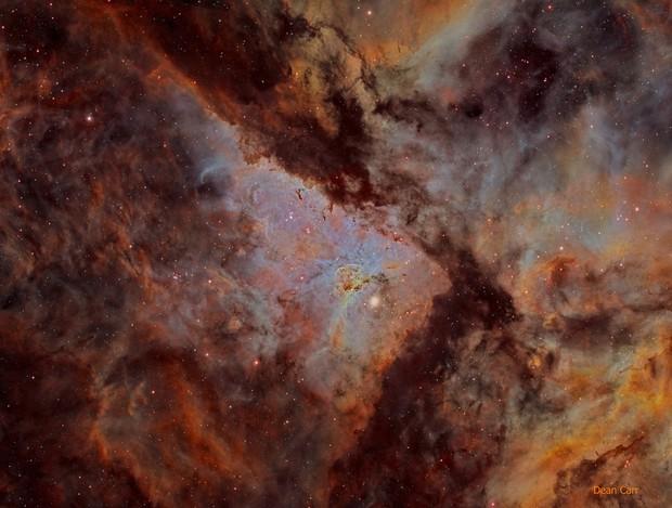 NGC3372 (Carina Nebula)  [NB Alt Version]