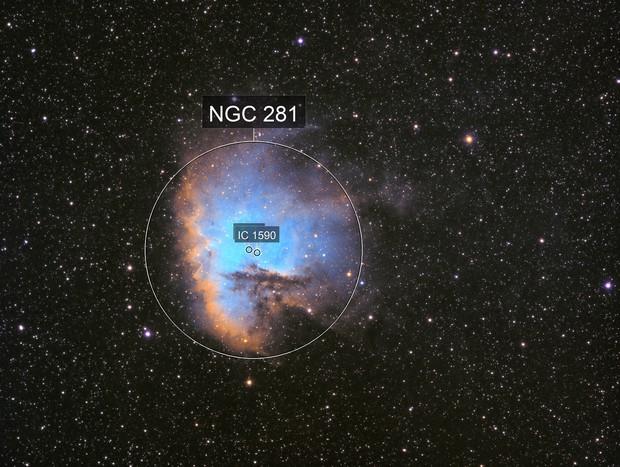 The PacMan Nebula - NGC 281