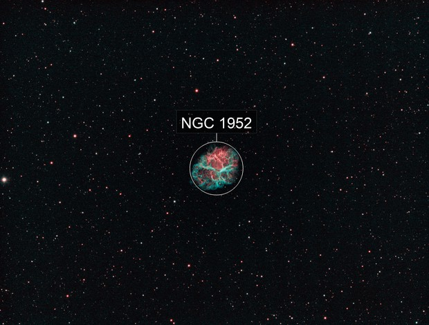 Messier 1 - Crab Nebula