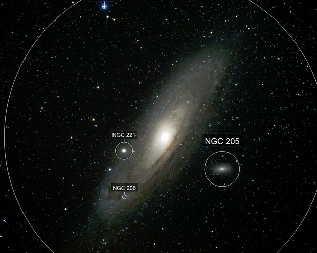 Andromeda Galaxy with an Astrograph