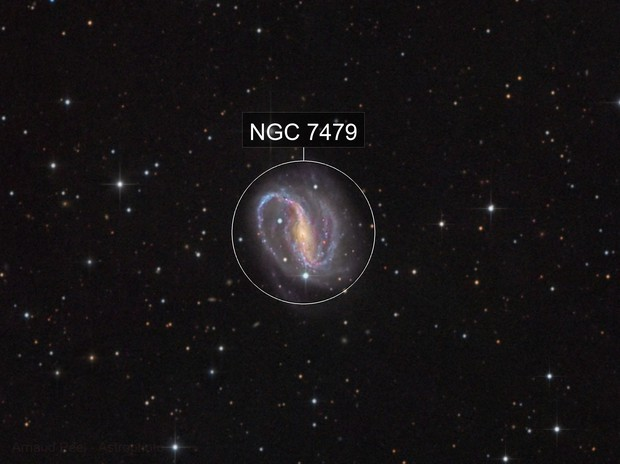 NGC7479 in Pegasus