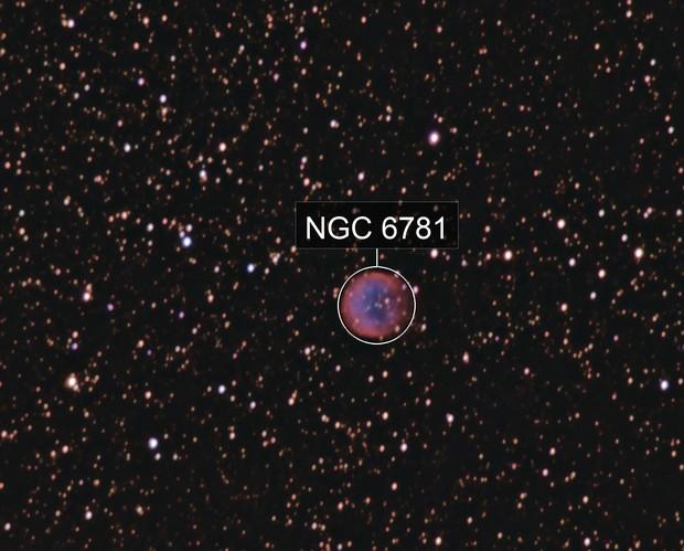 Planetary NGC6781