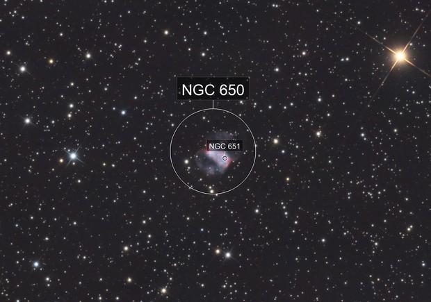 M76 - Little Dumbbell Nebula