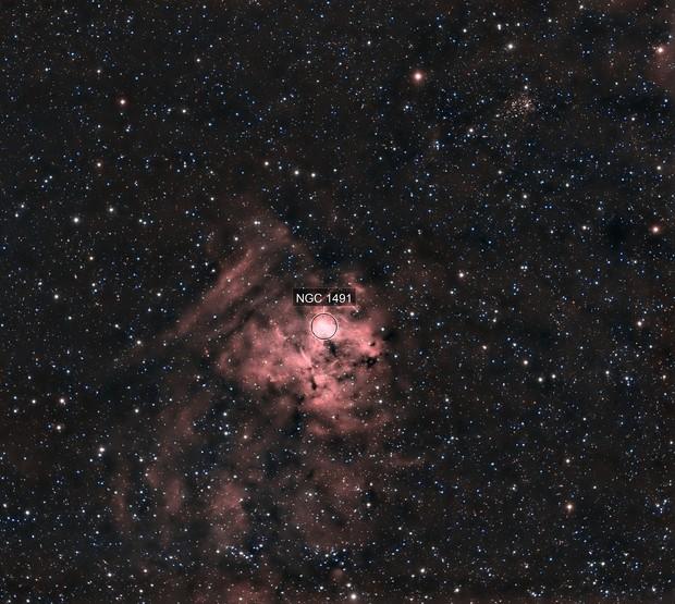 NGC1491 & OU1 en HOO