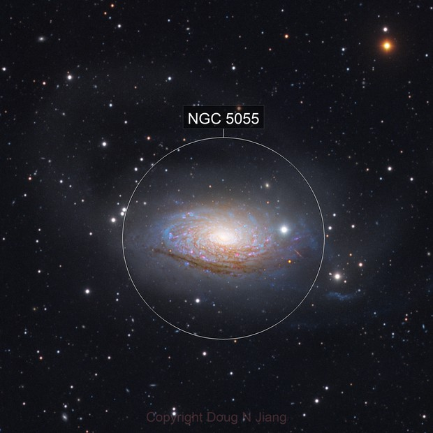 Going deep with M63 and neighbors