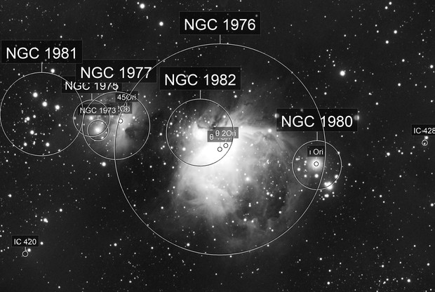 M42/M43/NGC 1977, Altair 183M, 60x60s