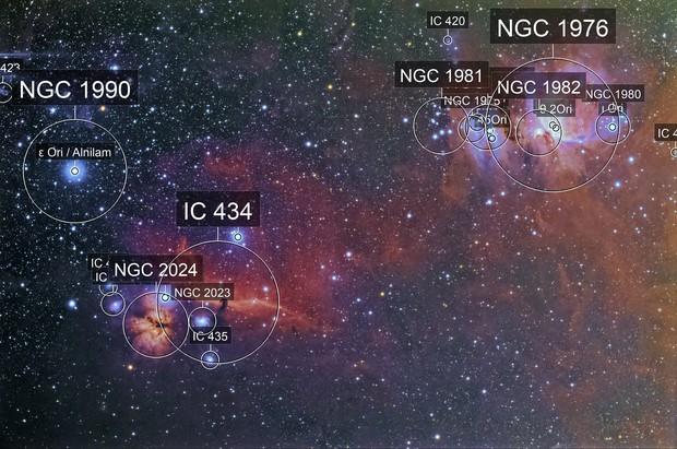 M42 + IC434 grand champ