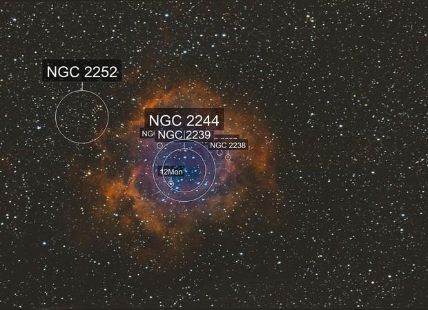 NGC 2244 + Roseta.