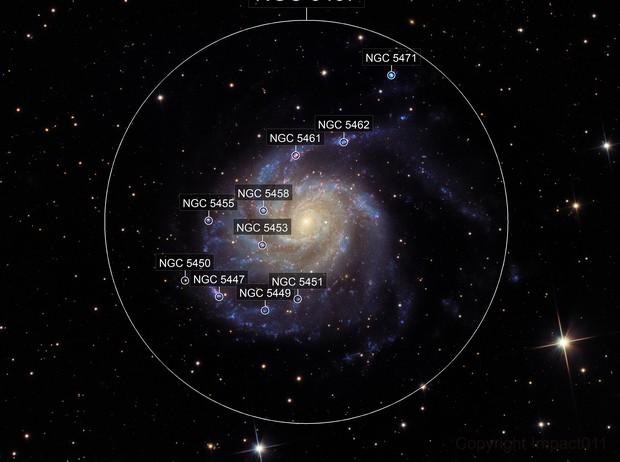 M101 - Pinwheel Galaxy - LRGB - Crop