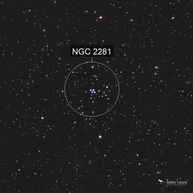 NGC 2281 - Open Cluster in Auriga