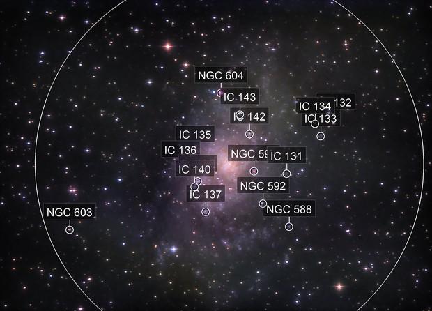 Messier 33 - The Triangulum galaxy