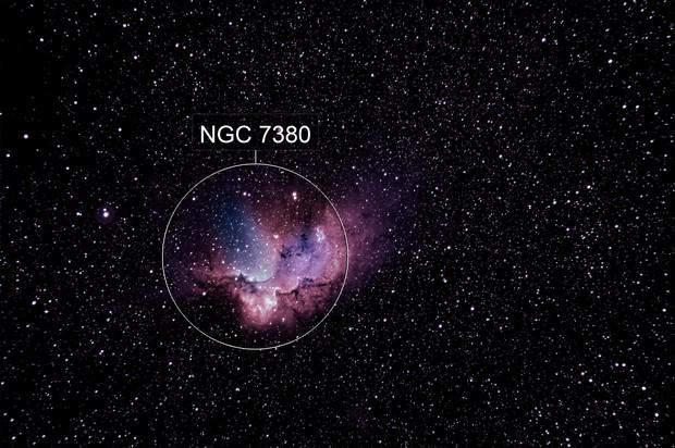Wizard Nebula in HOO