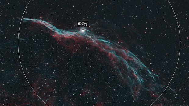 The Witches Broom Nebula - NGC 6960