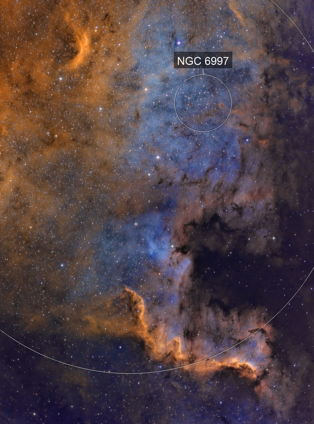 NGC7000 in SHO