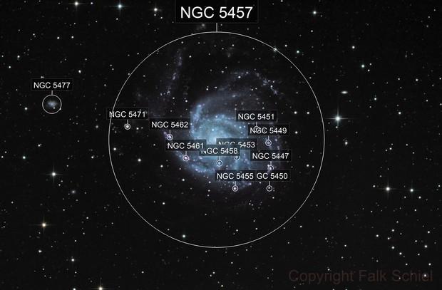 M101 - NGC 5457 / Pinwheel Galaxy