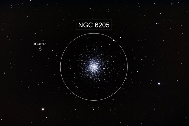M13 with alt-az mount ( NGC6205 )