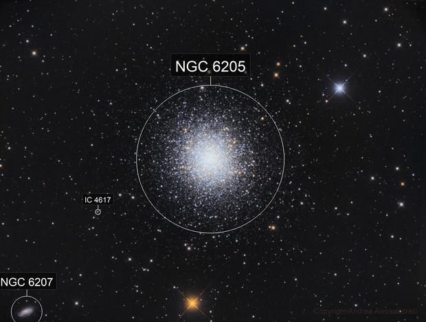 M 13 - The Great Globular Cluster in Hercules