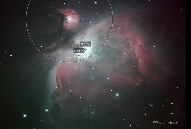 Orion Nebula - First Light with stock Canon 60D