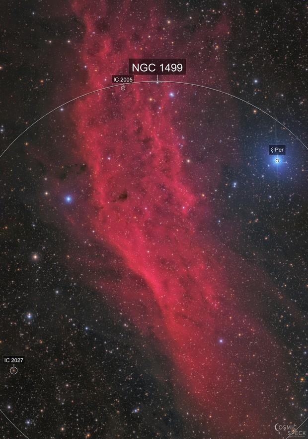 The California Nebula - NGC 1499 Mosaic
