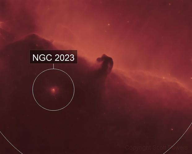 Single image Horsehead nebula