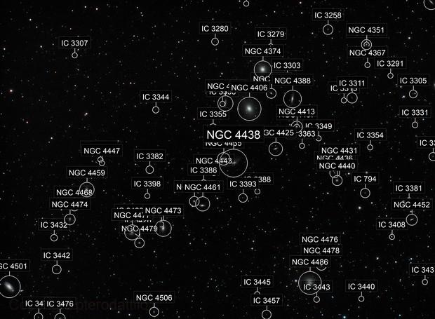 Markarian Chain on a WO Star71