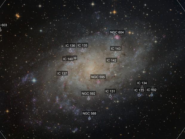 Messier 33 LRGB