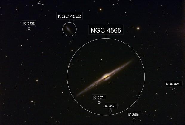 NGC 4565 Needle Galaxy