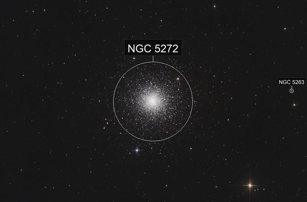 M3 - most beautiful globular cluster of the northern hemisphere
