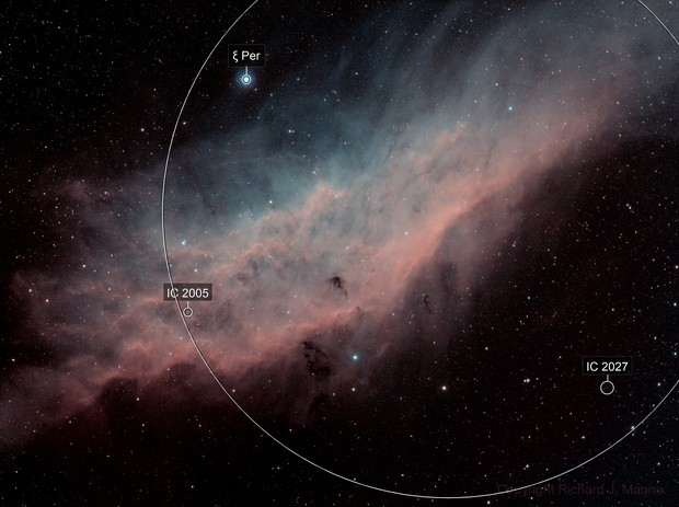 NGC1499 California Nebula