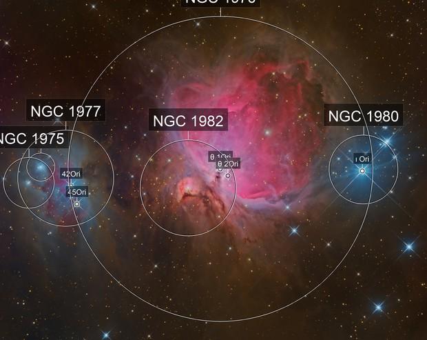 M 42 - Orion Nebula (LRGB)