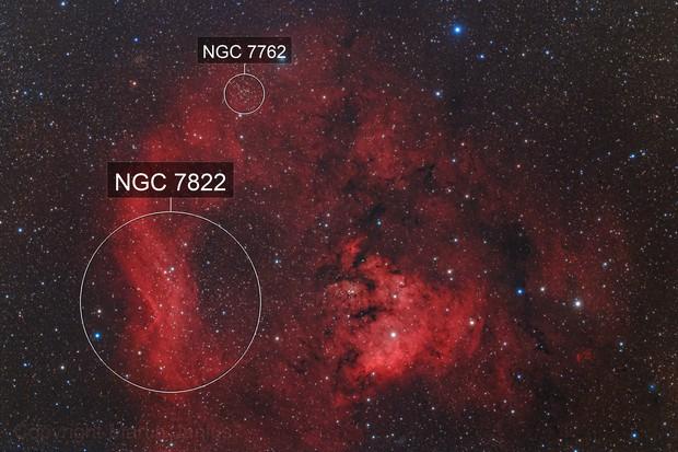 NGC 7822 and Cederblad 214 (Theli v1)
