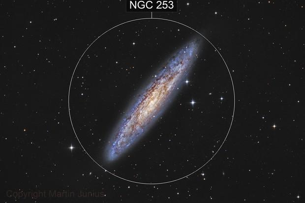 NGC 253 - Sculptor Galaxy (DSS)