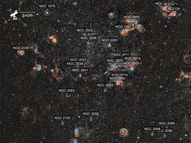 NGC 2020 - Sadr Chili