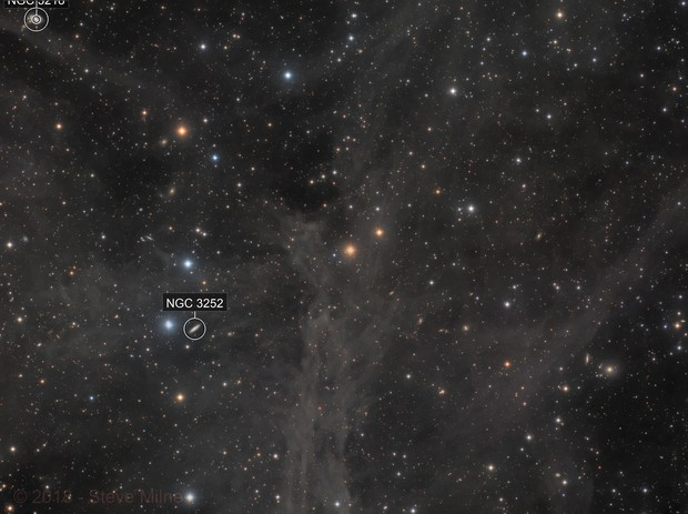 Mandel-Wilson 2 (the 'Angel Nebula') in Ursa Major - 31.5 hours of LRGB from Extremadura, Spain
