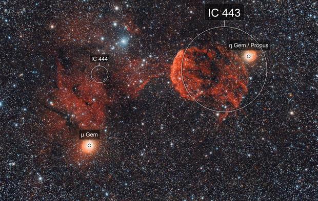 IC 444 et IC 443