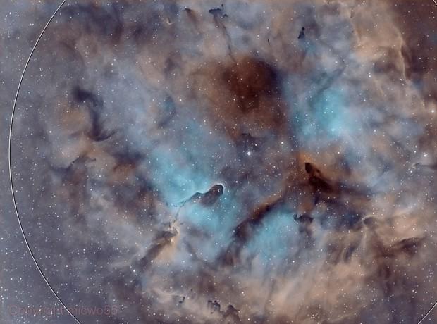 IC 1396 Elephant Trunk Bi Color