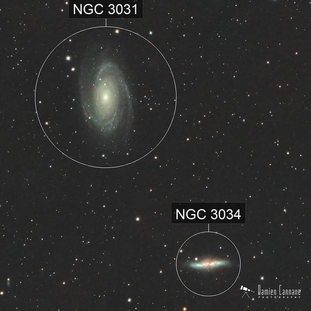 Bode's Galaxies